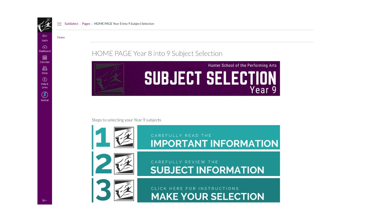 subject selection graphic